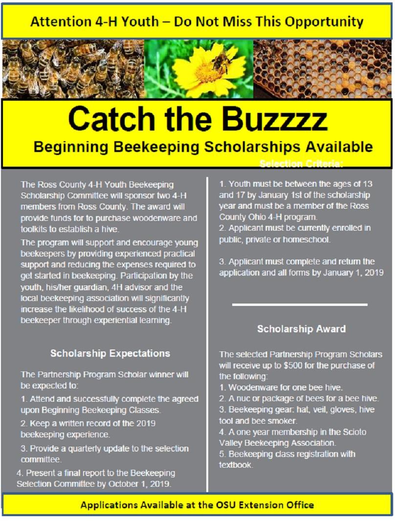 Beekeeping Scholarship