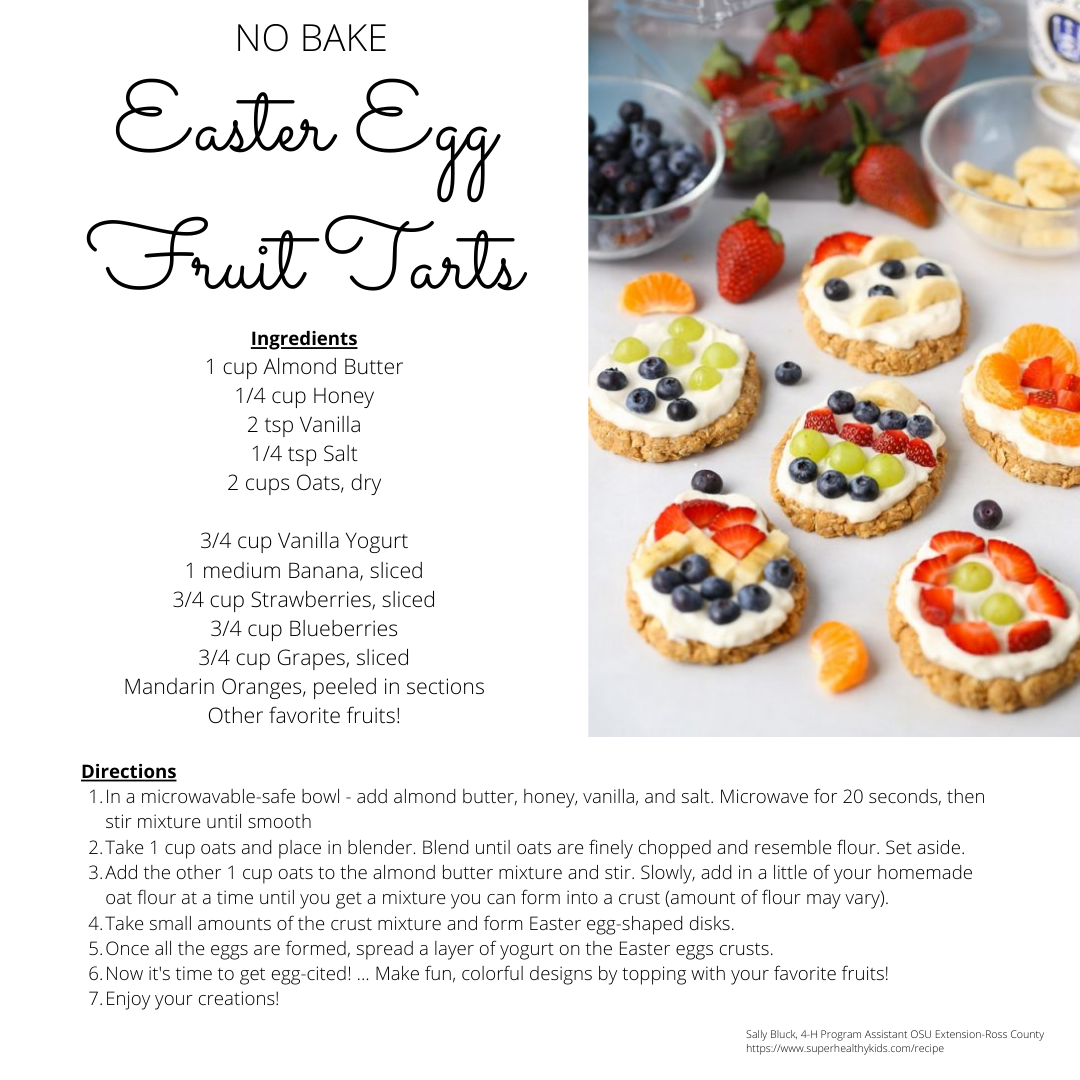 No Bake Fruit Tarts