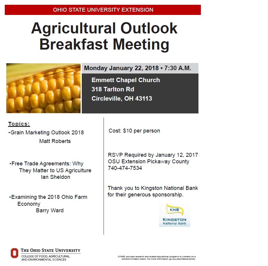 Ag. Outlook Meeting