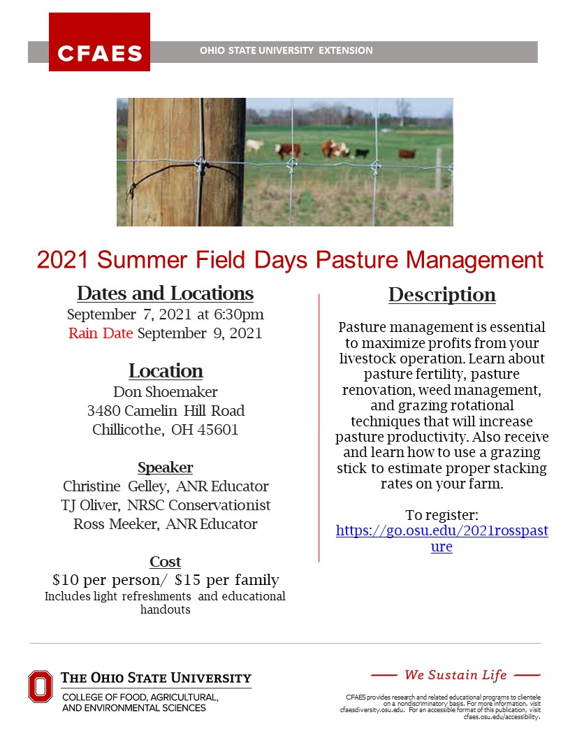 Pasture Managment